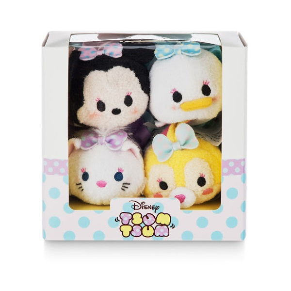 Disney Minnie and Friends Dressy Tsum Tsum Mini Plush Box Set