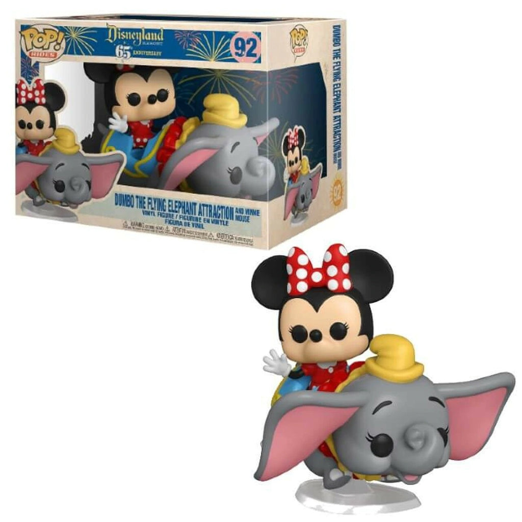Disney 65th Anniversary Pop! Vinyl Rides Minnie Mouse on Dumbo the Flying Elephant [92]