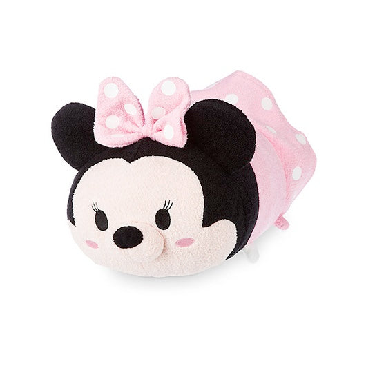 Disney Minnie Mouse Pink Dress Tsum Tsum Medium Plush