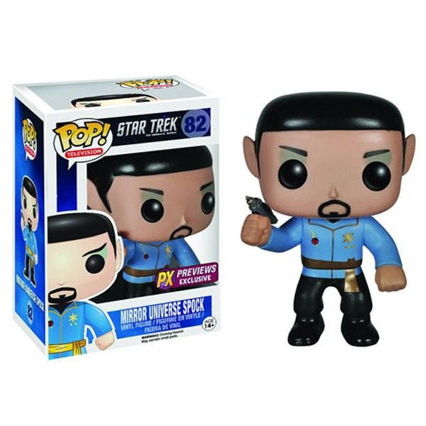 Star Trek Pop! Vinyl Figure Mirror Universe Spock [Previews Exclusive] - Fugitive Toys