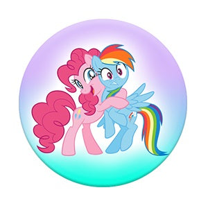 PopSockets My Little Pony Pinkie Pie and Rainbow Dash - Fugitive Toys