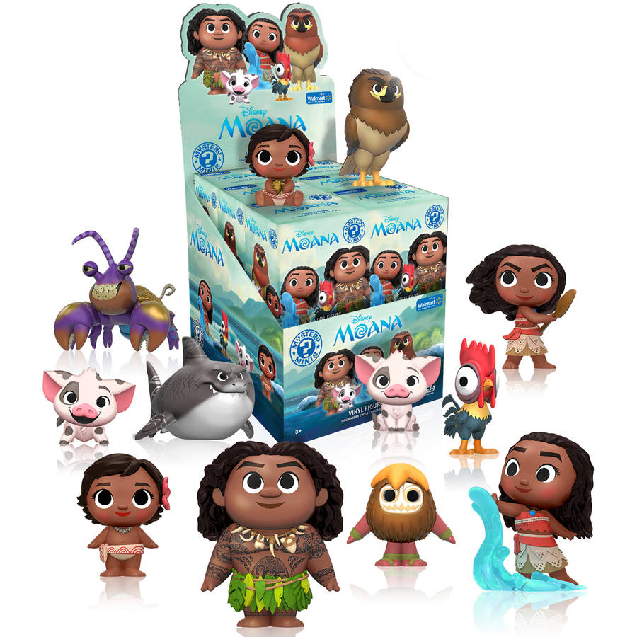 Moana [Walmart Exclusive] Mystery Minis: (1 Blind Box)