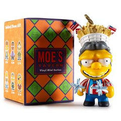 Kidrobot x The Simpsons Moe's Tavern Vinyl Mini Series: (1 Blind Box) - Fugitive Toys