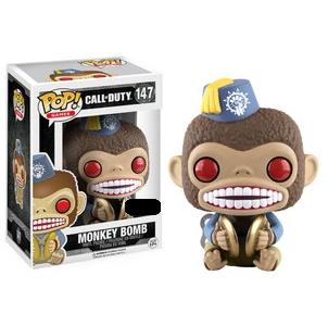 Call of Duty Pop! Vinyl Figure Monkey Bomb [147] - Fugitive Toys