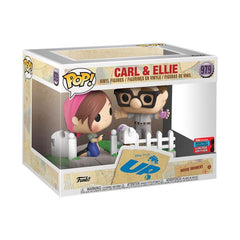 Disney Up Pop! Vinyl Figure Carl And Ellie Painting (2020 NYCC Shared) [979]