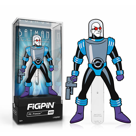 DC Batman The Animated Series: FiGPiN Enamel Pin Mr. Freeze (Limited Edition) [482]