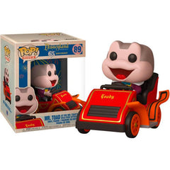 Disneyland 65th Anniversary Pop! Vinyl Rides Mr. Toad In Car [89]