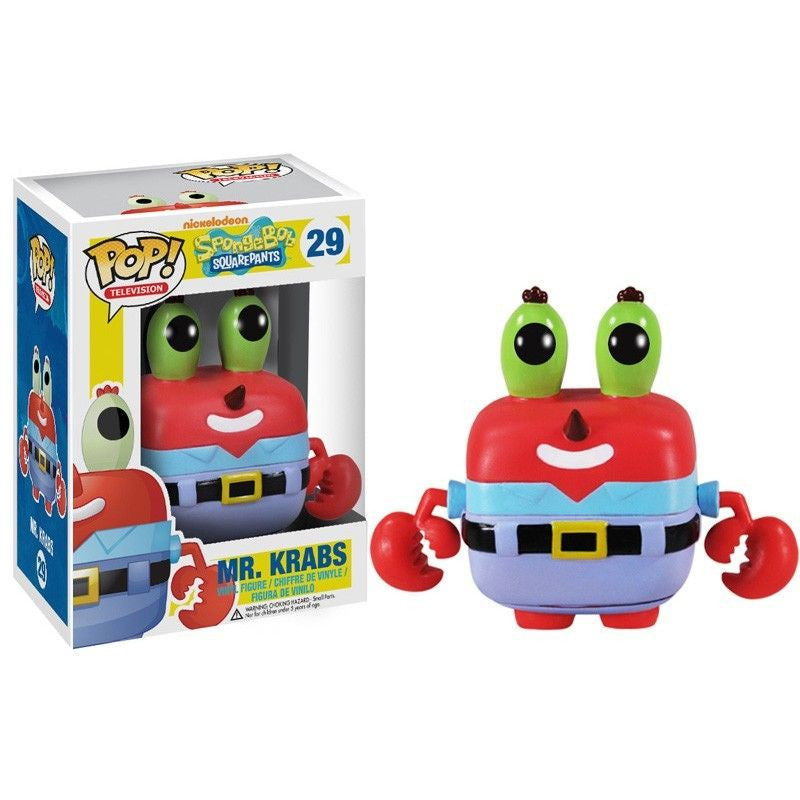 Spongebob Squarepants Pop! Vinyl Figure Mr. Krabs