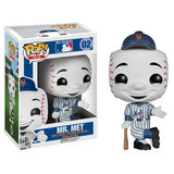 MLB Mascots Pop! Vinyl Figure Mr. Met [New York Mets] - Fugitive Toys