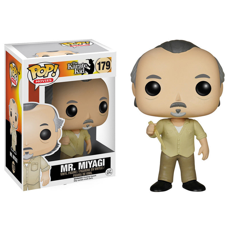 Movies Pop! Vinyl Figure Mr. Miyagi [The Karate Kid]