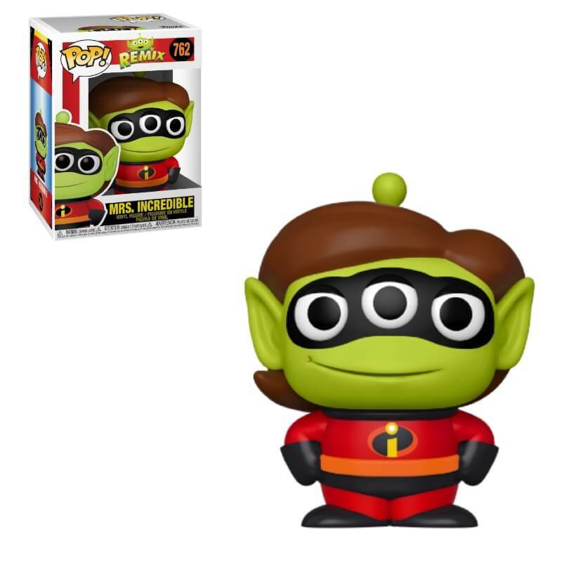 Disney Pixar Alien Remix Pop! Vinyl Figure Mrs. Incredible [762]