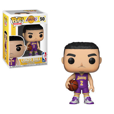 NBA Pop! Vinyl Figure Lonzo Ball [Los Angeles Lakers] [50] - Fugitive Toys