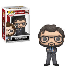 La Casa De Papel Pop! Vinyl Figure The Professor [744] - Fugitive Toys
