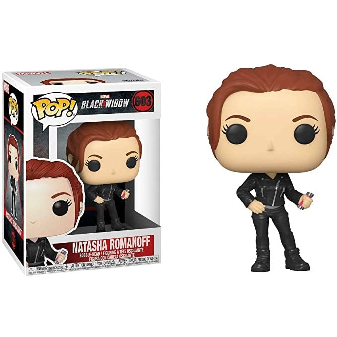 Black Widow Pop! Vinyl Figure Natasha Romanoff [603]