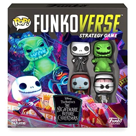 Disney The Nightmare Before Christmas Pop! Funkoverse Strategy Game Base Set [100]
