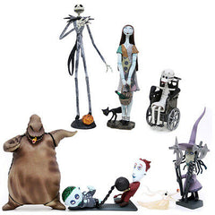 Jun Planning The Nightmare Before Christmas Trading Figure Series 1 (Complete Set of 6)