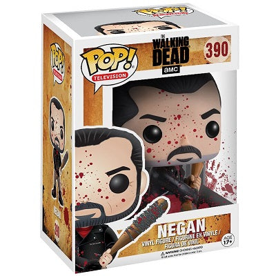 The Walking Dead Pop! Vinyl Figure Negan (Bloody) [390] - Fugitive Toys