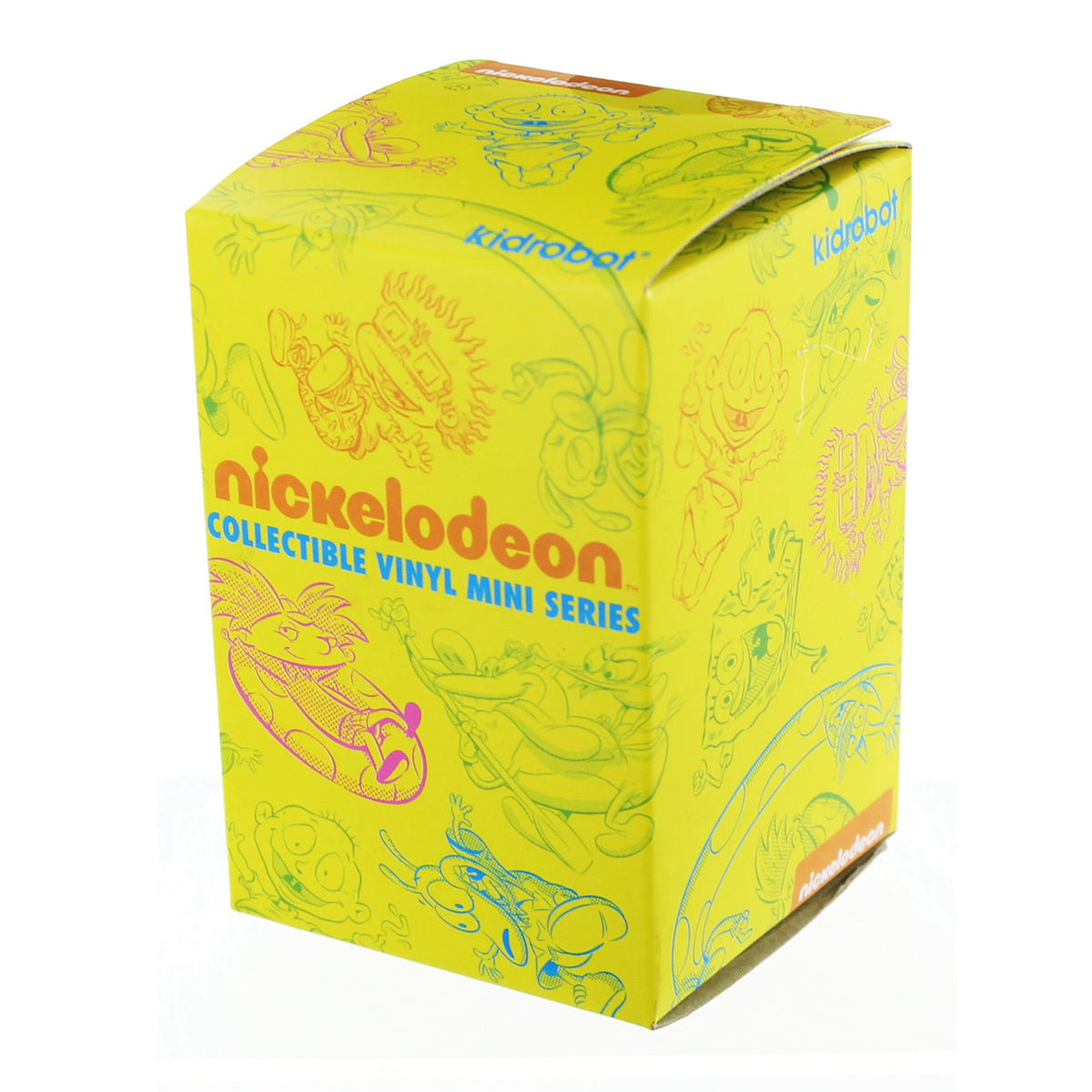 Kidrobot Nickelodeon Collectible Vinyl Mini Series: (1 Blind Box) - Fugitive Toys