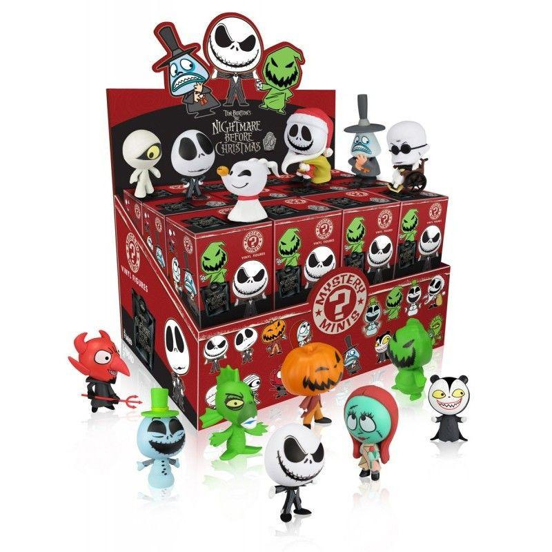 The Nightmare Before Christmas Mystery Minis (Case of 24)