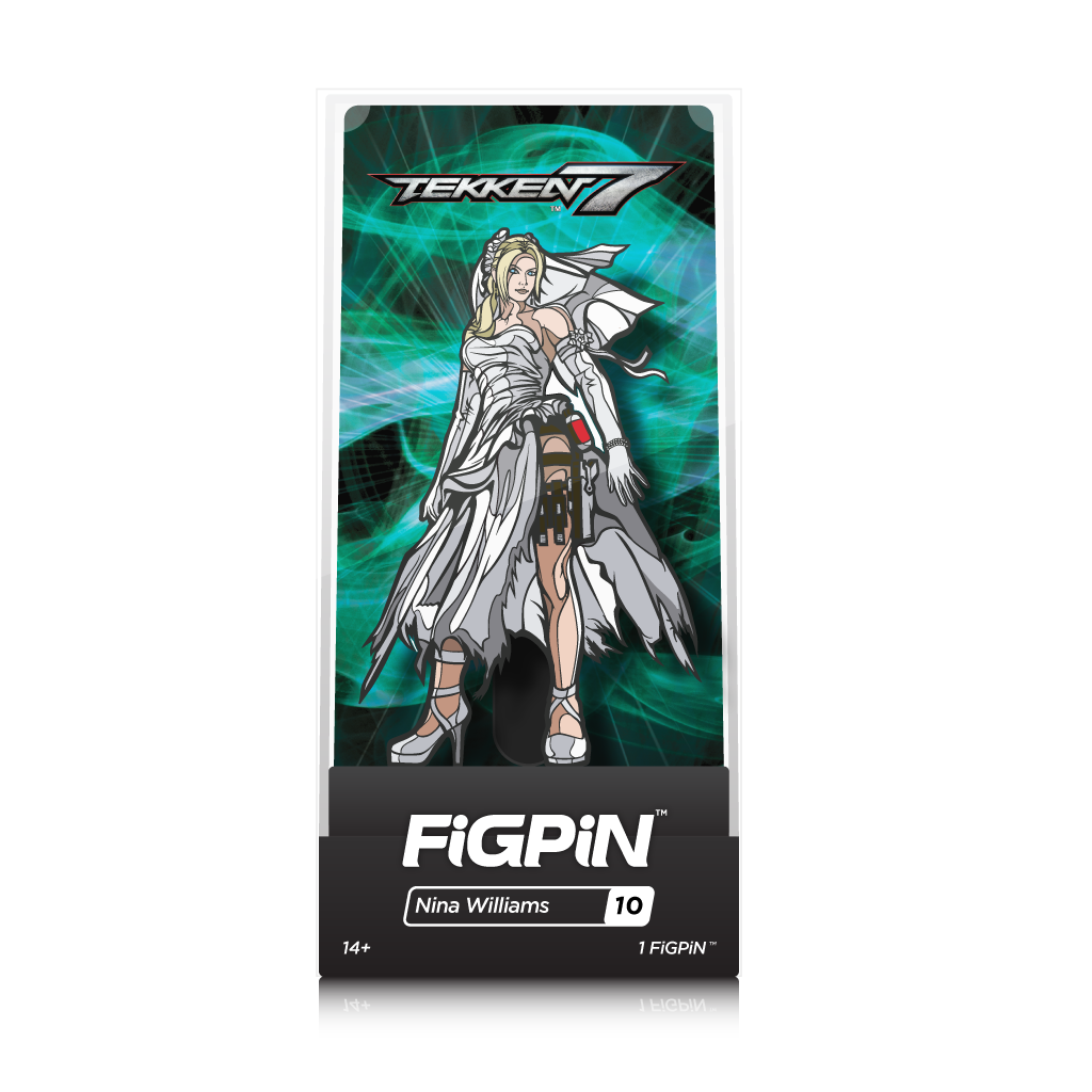 Tekken 7: FiGPiN Enamel Pin Nina Williams [10] - Fugitive Toys