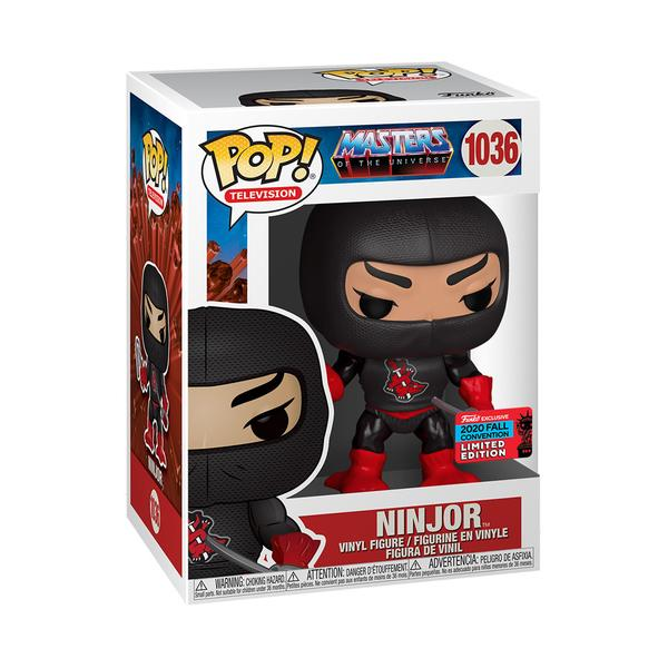 Masters of the Universe Pop! Vinyl Figure Ninjor (2020 NYCC Shared) [1036]