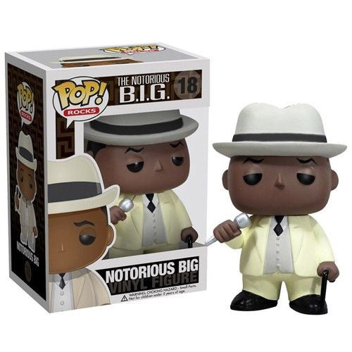 Rocks Pop! Vinyl Figure Notorious B.I.G.