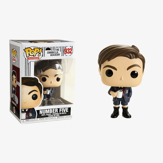 The Umbrella Academy Pop! Vinyl Figure Number Five [932]