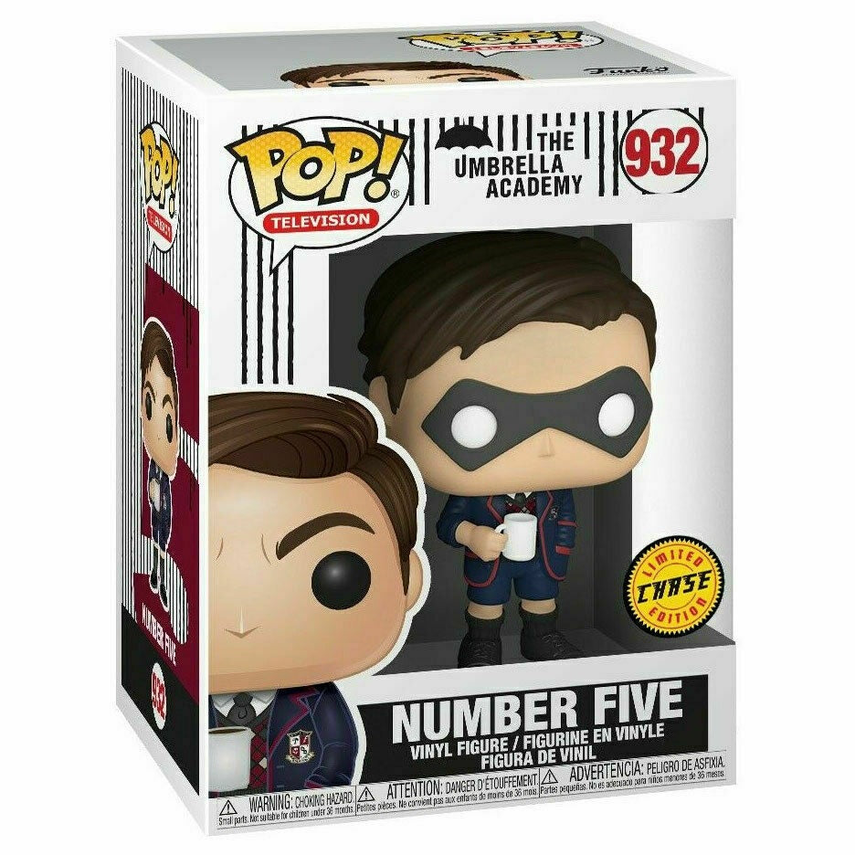 The Umbrella Academy Pop! Vinyl Figure Number Five (Mask) (Chase) [932]
