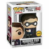 The Umbrella Academy Pop! Vinyl Figure Number Five (Mask) (Chase) [932] - Fugitive Toys