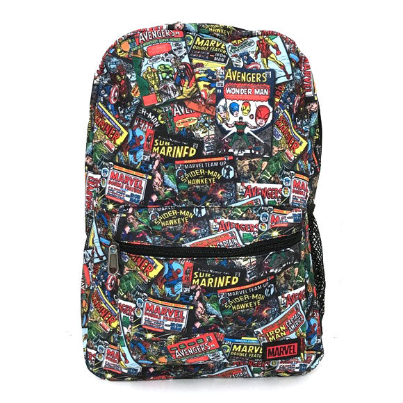 Loungefly Marvel Retro Comics Nylon Backpack
