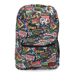 Loungefly Marvel Retro Comics Nylon Backpack - Fugitive Toys