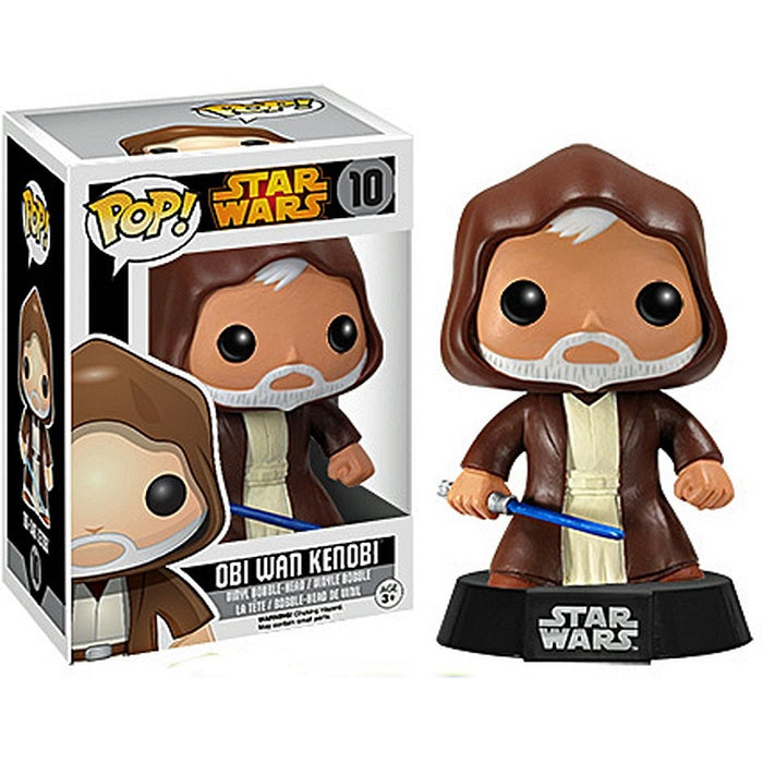 Star Wars Pop! Vinyl Figures Obi Wan Kenobi [Black Box] [10] - Fugitive Toys