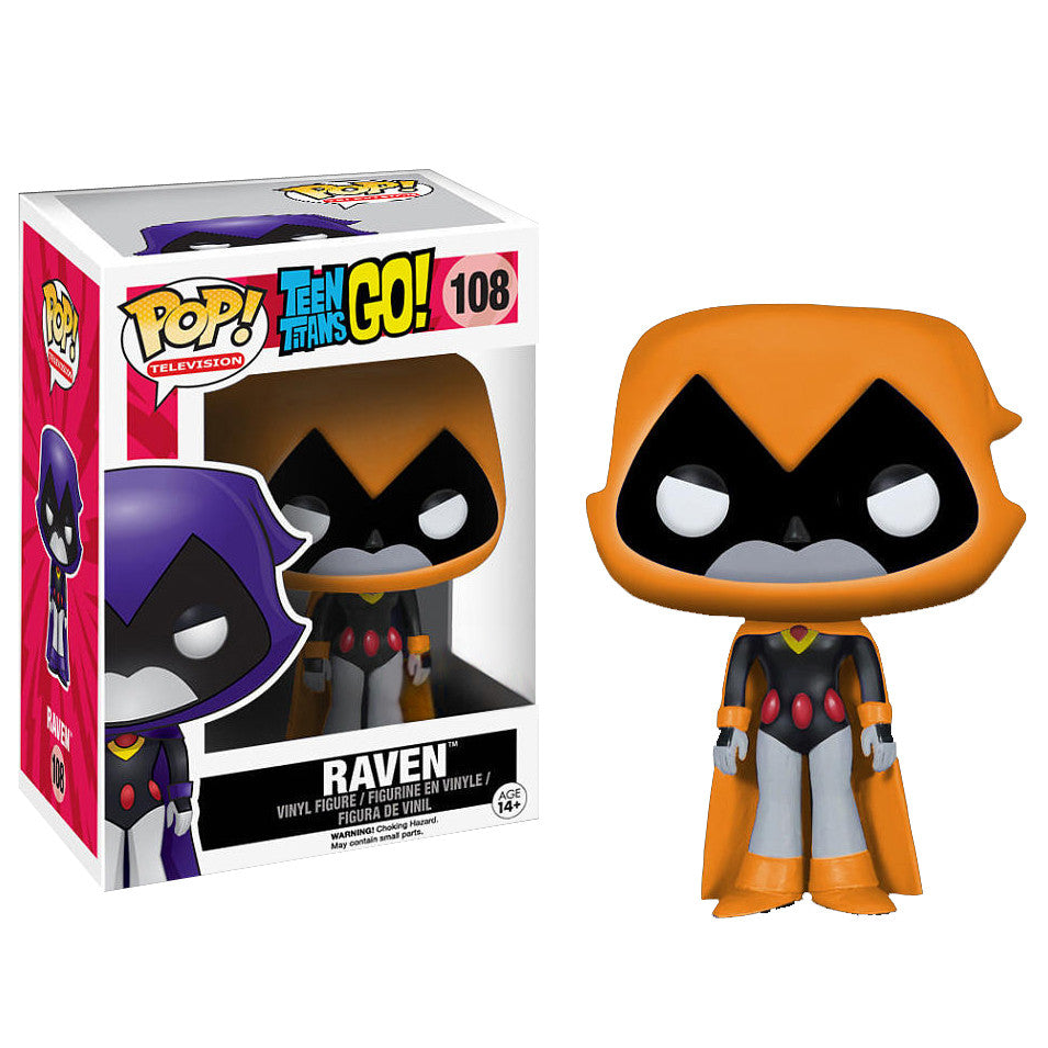 Teen Titans Go! Pop! Vinyl Figure Raven (Orange)