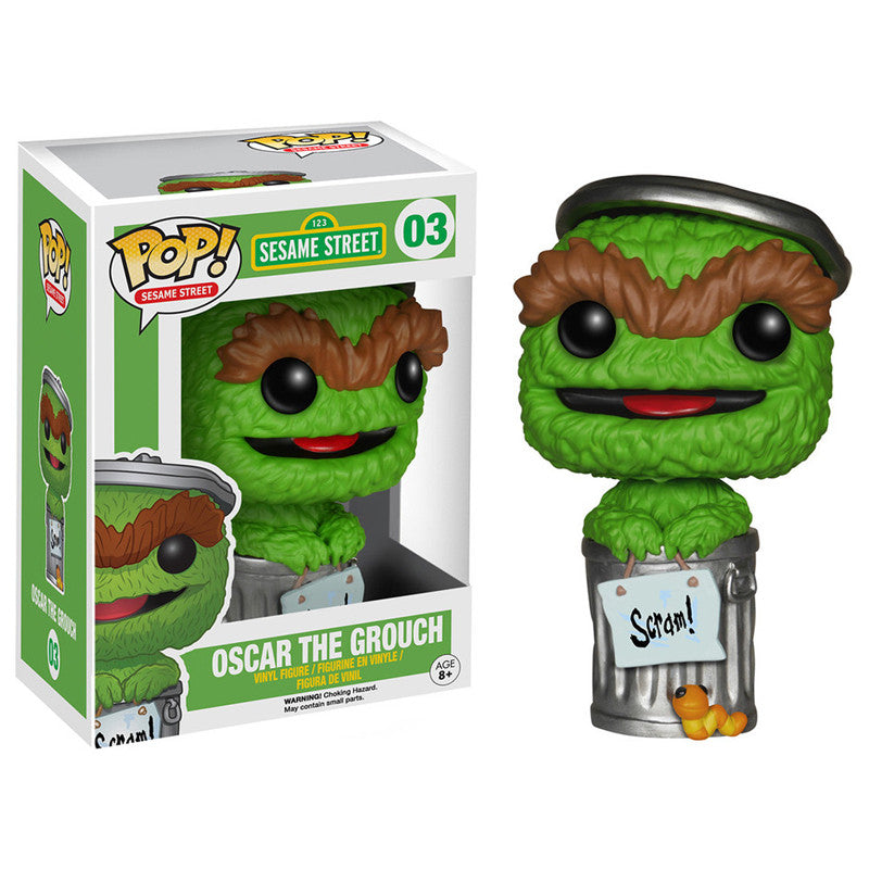 Sesame Street Pop! Vinyl Figure Oscar the Grouch