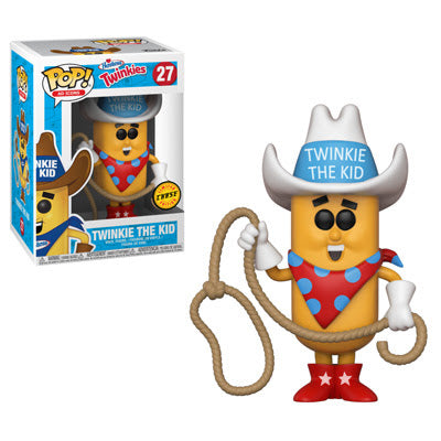 Ad Icons Pop! Vinyl Figure Twinkie the Kid [Hostess] [Chase] [27] - Fugitive Toys