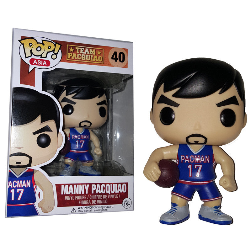 Asia Pop Vinyl Figure Manny Pacquiao Basketball Player