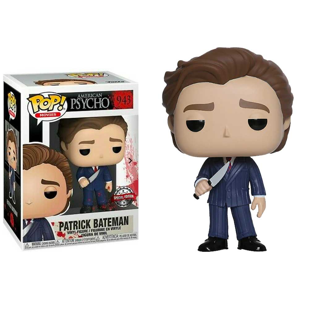 American Psycho Pop! Vinyl Figure Patrick Bateman with Knife [943]