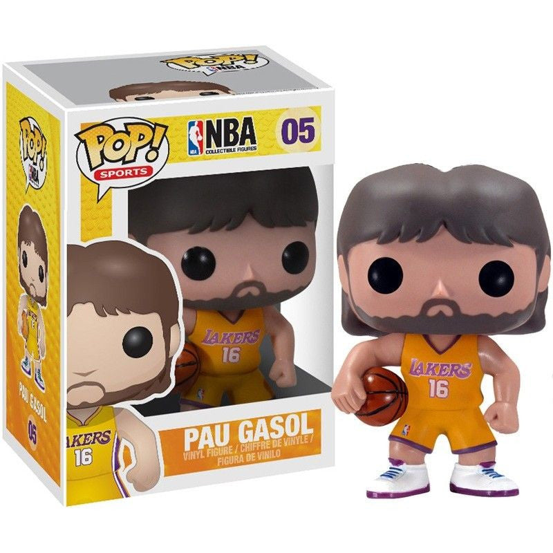 NBA Series 1 Pop! Vinyl Figure Pau Gasol