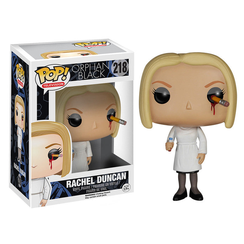 Orphan Black Pop! Vinyl Figure Penciled Eye Rachel Duncan - Fugitive Toys