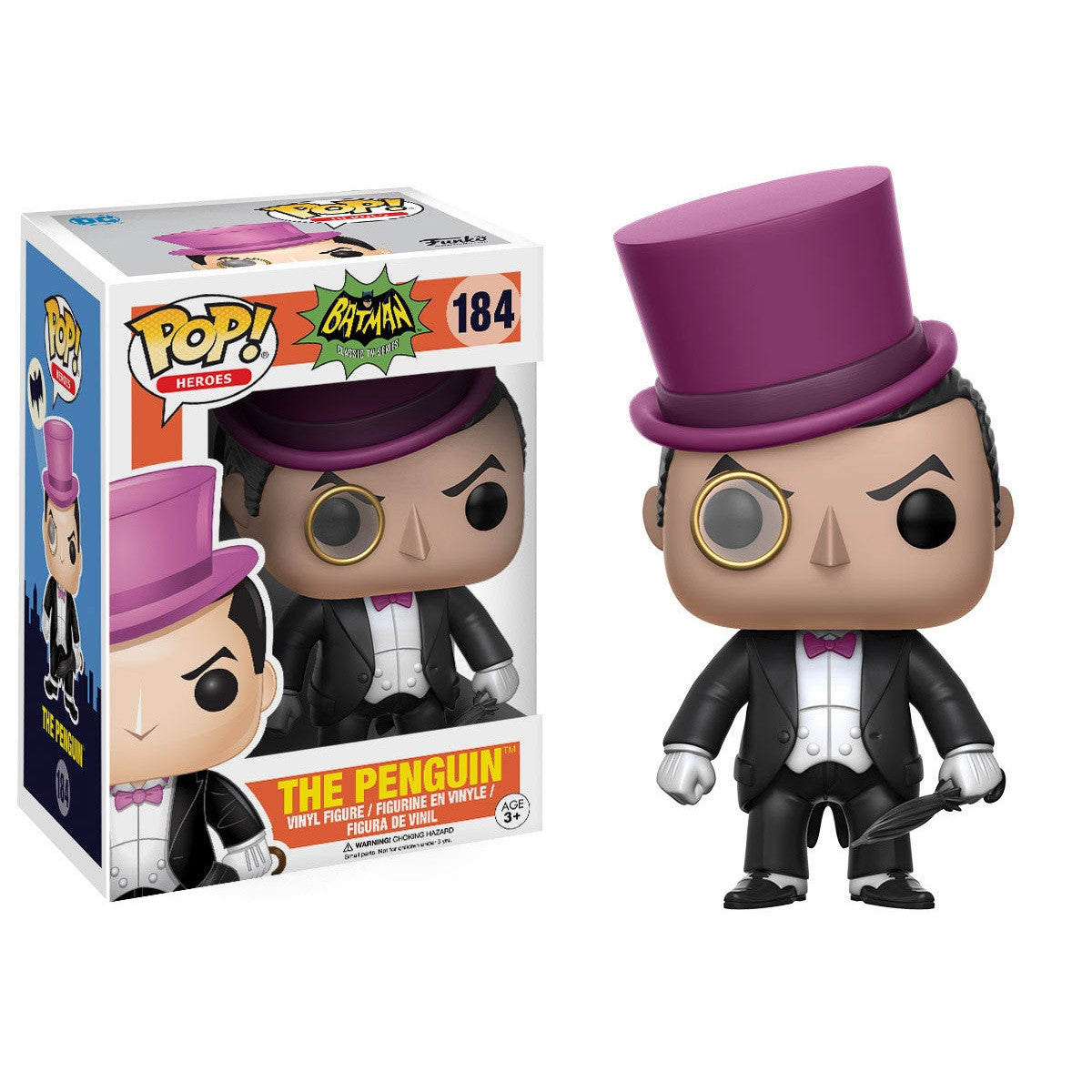 1960's Classic Batman Pop! Vinyl Figure The Penguin 1966