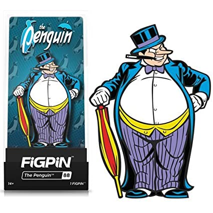 DC Comics: Batman Classic: FiGPiN Enamel Pin The Penguin [88]