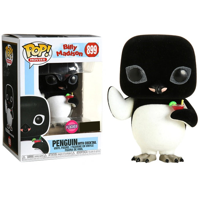Billy Madison Pop! Vinyl Figure Penguin with Cocktail Flocked [899]