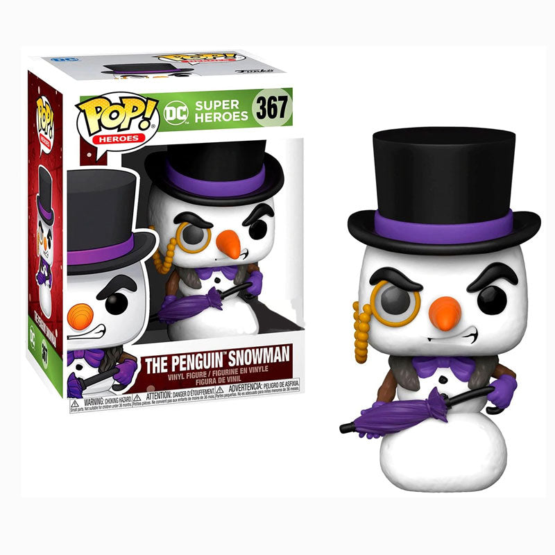 DC Holiday Pop! Vinyl Figure The Penguin Snowman [367]