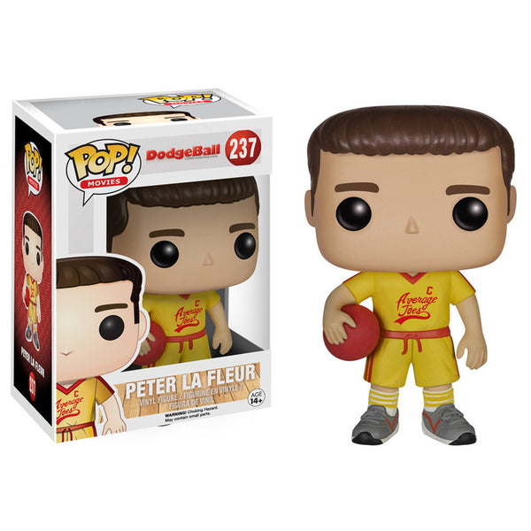 Movies Pop Vinyl Figure Peter La Fleur Dodgeball