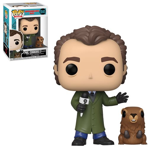 Groundhog Day Pop! Vinyl Figure Phil Collins with Punxsutawney Phil [1045]