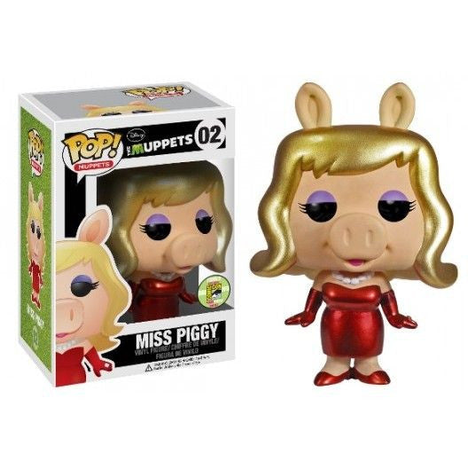The Muppets Pop! Vinyl Figure Metallic Miss Piggy [SDCC 2013 Exclusive]
