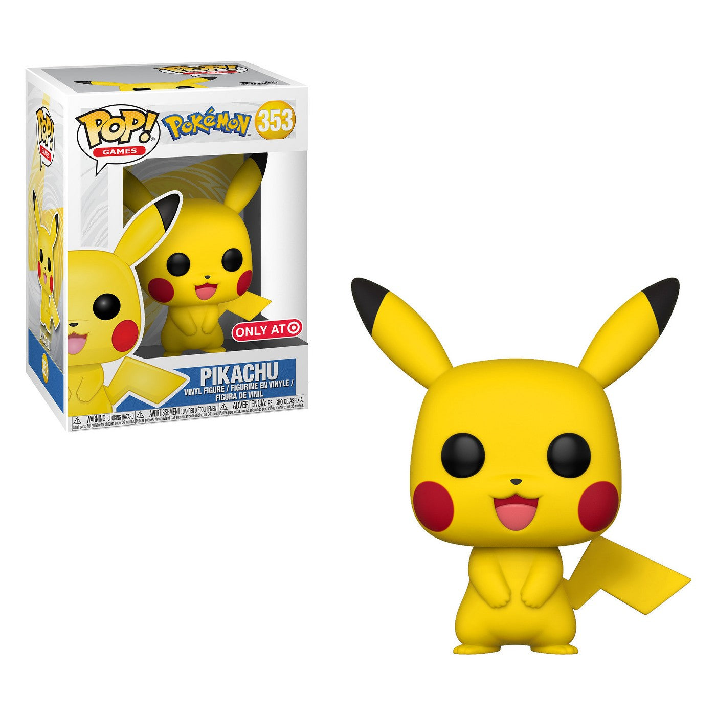 Pokemon Pop! Vinyl Figure Pikachu [353]