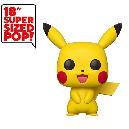 Pokemon Pop! Vinyl Figure Pikachu [18 inch] Super Sized