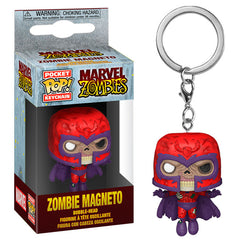 Marvel Zombies Pocket Pop! Keychain Zombie Magneto