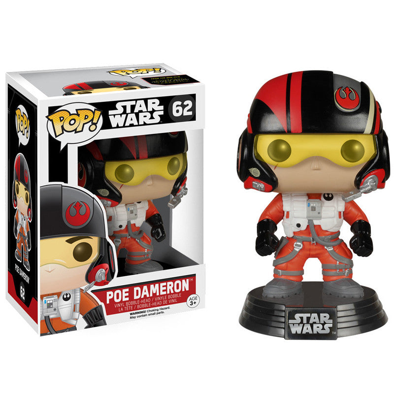 Star Wars Pop! Vinyl Bobblehead Poe Dameron [Episode VII: The Force Awakens]